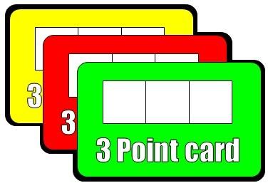 3ポイントカード オリジナルバージョン